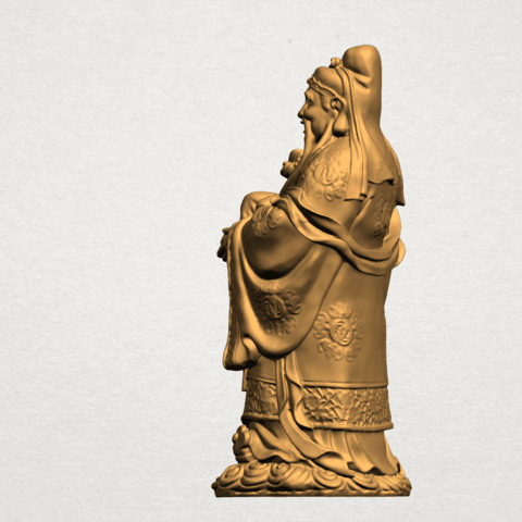 Fook (Fook Look Sao) 80mm - A03.png Download free STL file Fook (Fook Look Sao) • 3D printer template, GeorgesNikkei