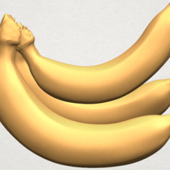 Free 3D printer model Banana 01, GeorgesNikkei
