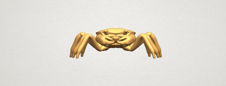 TDA0612 Crab A04.png Télécharger fichier STL gratuit Crabe • Objet pour imprimante 3D, GeorgesNikkei