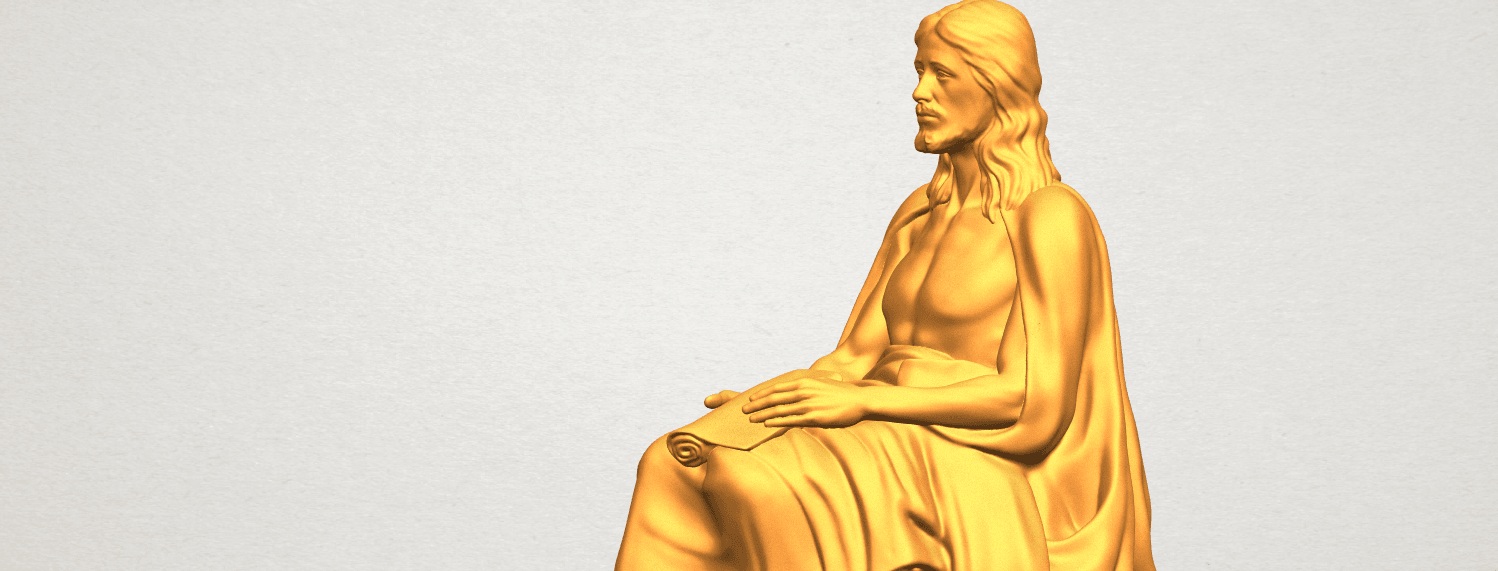 A11.png Download free STL file Jesus 06 • 3D printer object, GeorgesNikkei