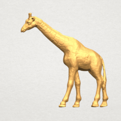 Giraffe 3D printer file, Miketon