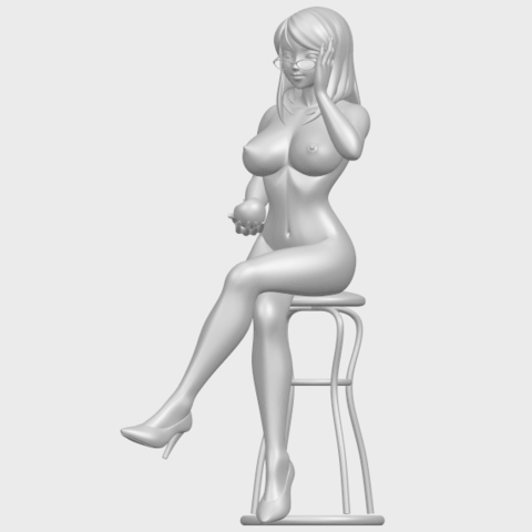 TDA0717_Naked_Girl_30-sittingA02.png Download free STL file Naked Girl 30 - sitting • 3D printable model, GeorgesNikkei