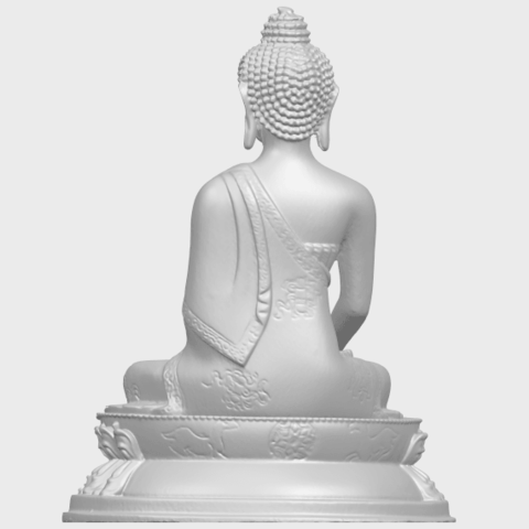 15_TDA0173_Thai_Buddha_(iii)_88mmA06.png Download free STL file Thai Buddha 03 • 3D printing object, GeorgesNikkei