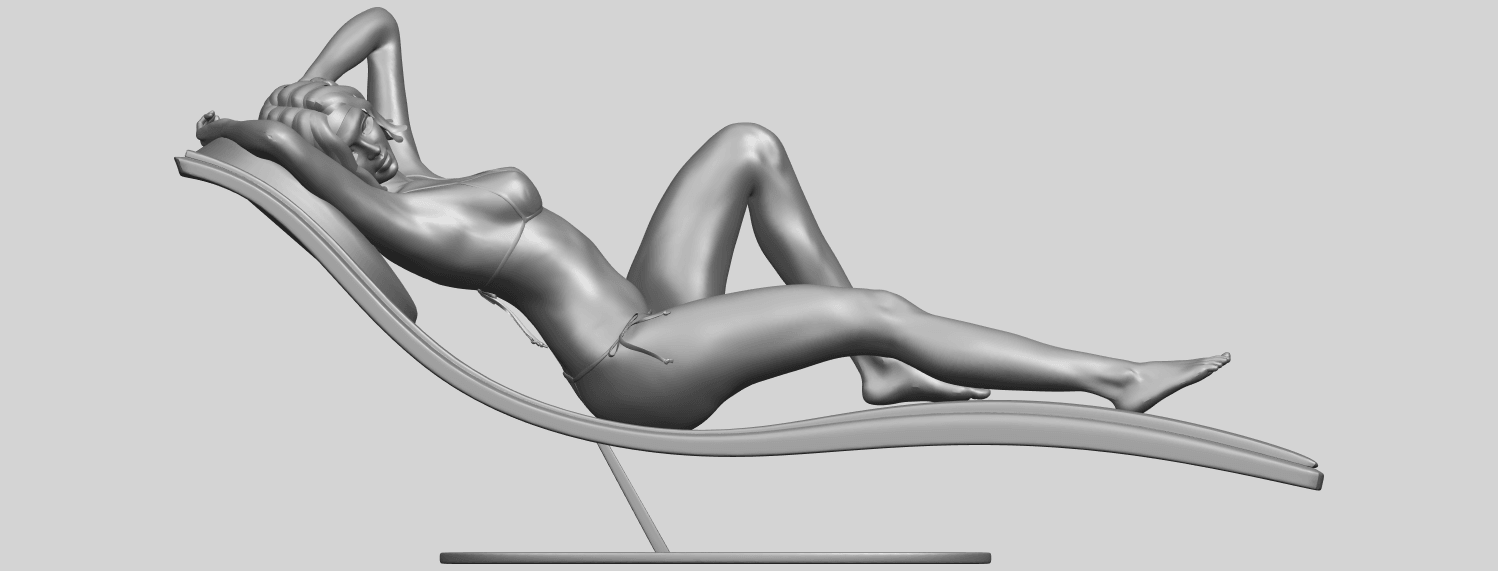 TDA0743_Sexy_Girl_13-Lye_on_ChairA01.png Download free STL file Sexy Girl 13 - Lye on Chair • 3D printer design, GeorgesNikkei