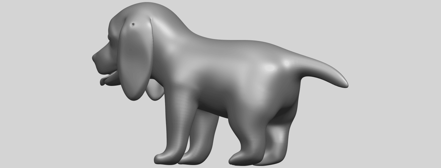 15_TDA0533_Puppy_01A07.png Download free STL file Puppy 01 • 3D printer template, GeorgesNikkei