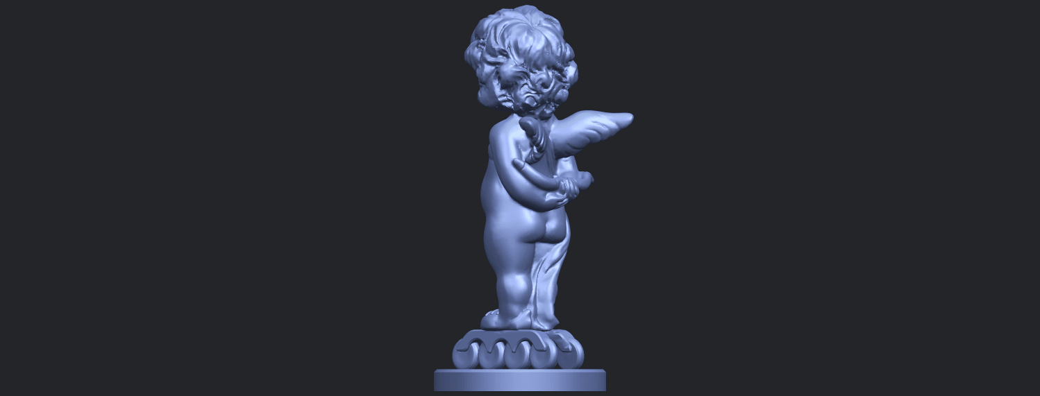 15_TDA0478_Angel_Baby_01B05.png Download free STL file Angel Baby 01 • 3D print template, GeorgesNikkei
