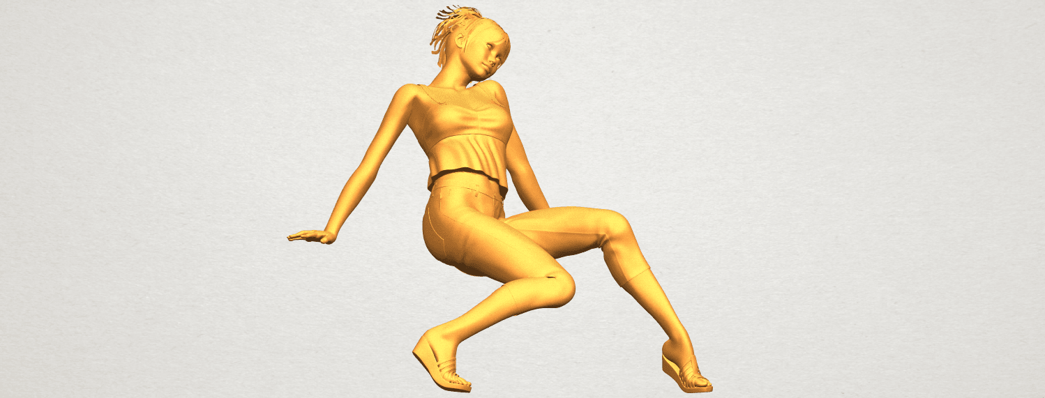 A10.png Download free STL file Naked Girl G06 • 3D printable object, GeorgesNikkei