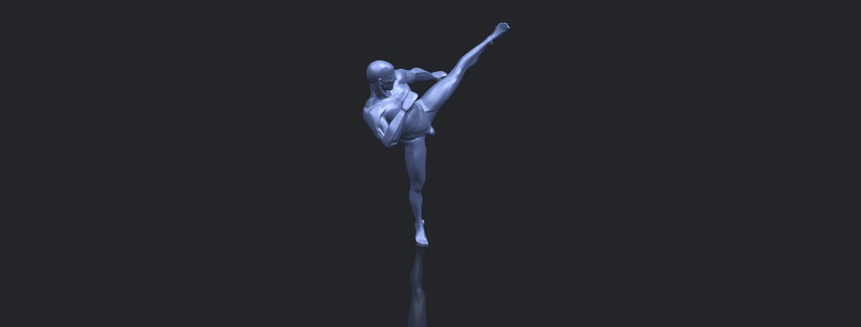 06_TDA0547_Man_KickingB00-1.png Télécharger fichier STL gratuit Man Kicking • Objet pour impression 3D, GeorgesNikkei