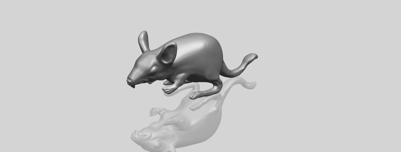 TDA0756_Rat_01A00-1.png Télécharger fichier STL gratuit Rat 01 • Plan pour impression 3D, GeorgesNikkei