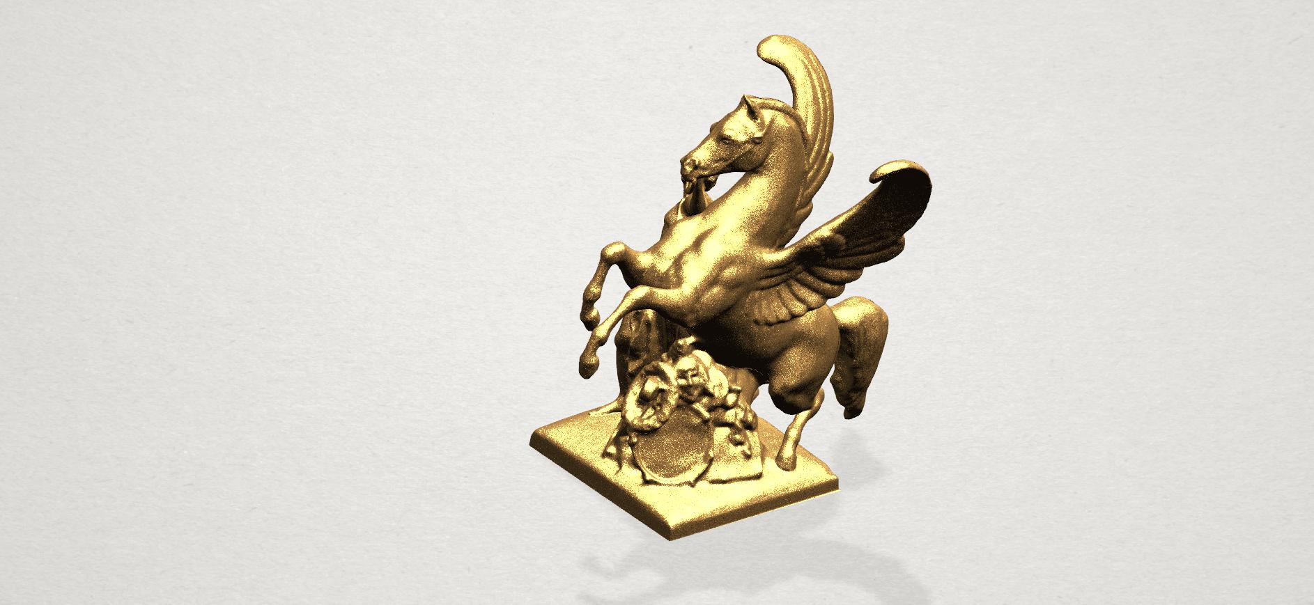 Horse (v) A07.png Télécharger fichier STL gratuit Cheval 05 • Plan pour impression 3D, GeorgesNikkei