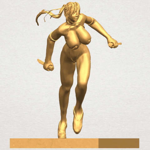 TDA0586 Sexy Girl 09 A06.png Download free STL file Sexy Girl 09 • 3D printing template, GeorgesNikkei