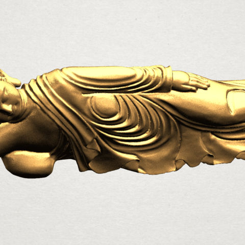 Sleeping Buddha (ii) A08.png Download free STL file Sleeping Buddha 02 • Design to 3D print, GeorgesNikkei