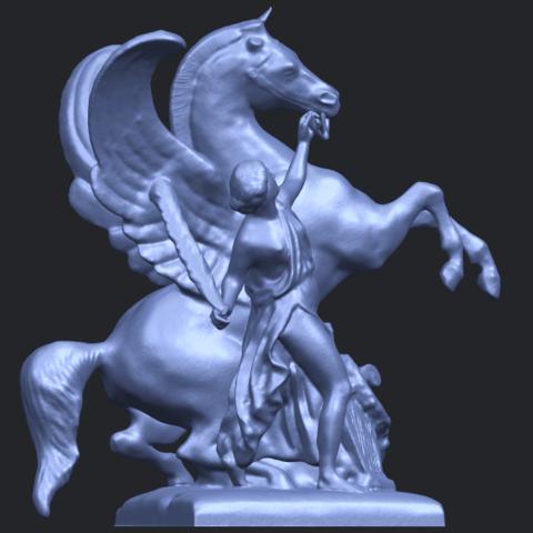 10_Horse_(v)_88.3mmB06.png Télécharger fichier STL gratuit Cheval 05 • Plan pour impression 3D, GeorgesNikkei