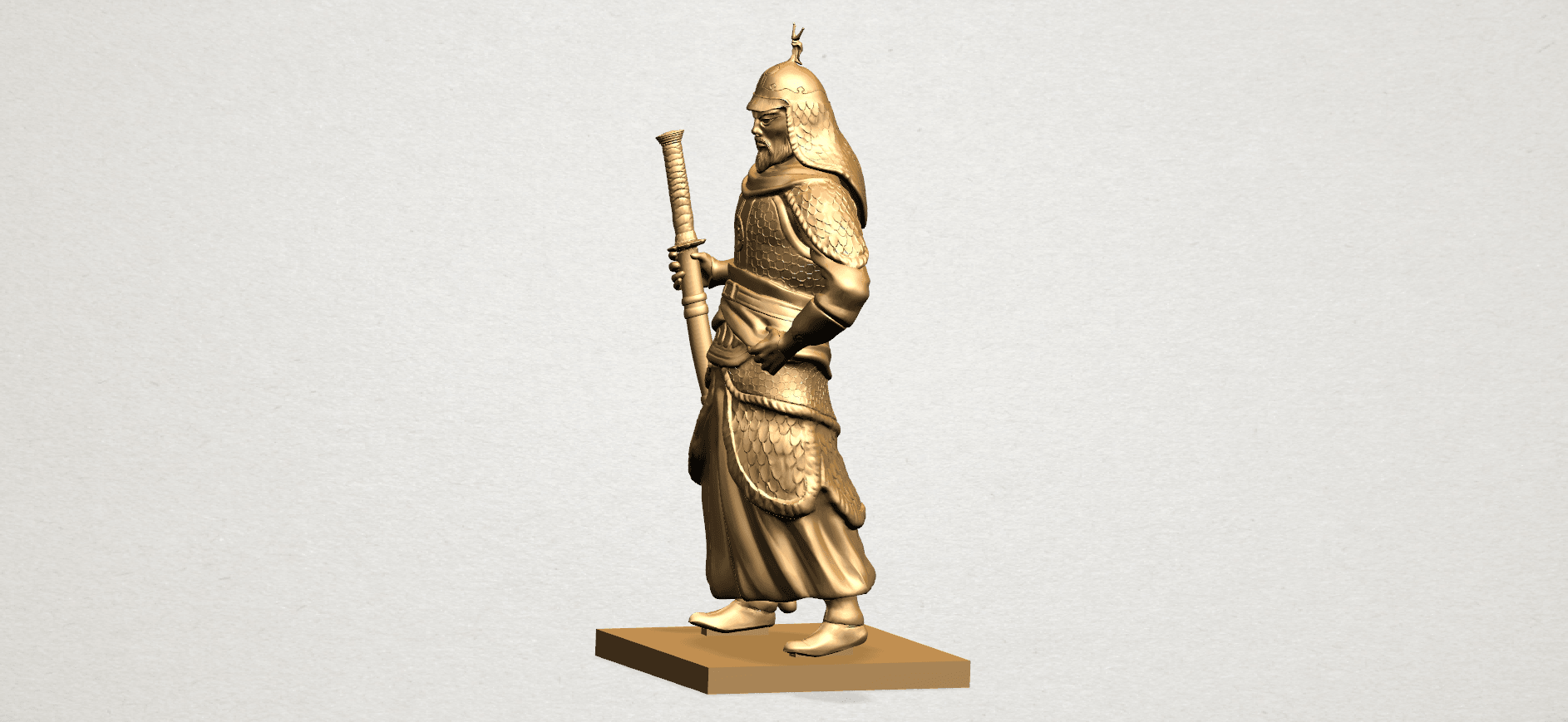 Age of Empire - warrior -B03.png Download free STL file Age of Empire - warrio • 3D print design, GeorgesNikkei