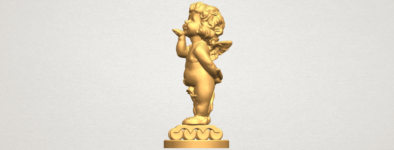 TDA0480 Angel Baby 03 A03.png Download free STL file Angel Baby 03 • 3D printing template, GeorgesNikkei