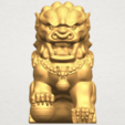 TDA0500 Chinese Lion A01.png Download free STL file Chinese Lion • 3D printing object, GeorgesNikkei