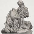 TDA0238 La Pieta A02.png Télécharger fichier STL gratuit La Pieta • Modèle pour impression 3D, GeorgesNikkei