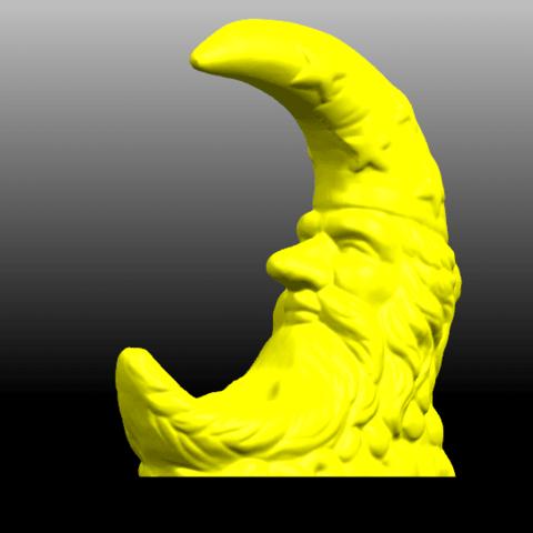 05.png Télécharger fichier STL gratuit Lune • Design pour impression 3D, GeorgesNikkei