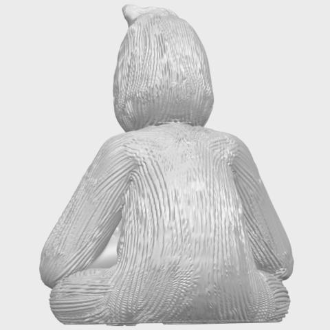 09_TDA0606_ChimpanzeeA06.png Télécharger fichier STL gratuit Chimpanzé • Design imprimable en 3D, GeorgesNikkei