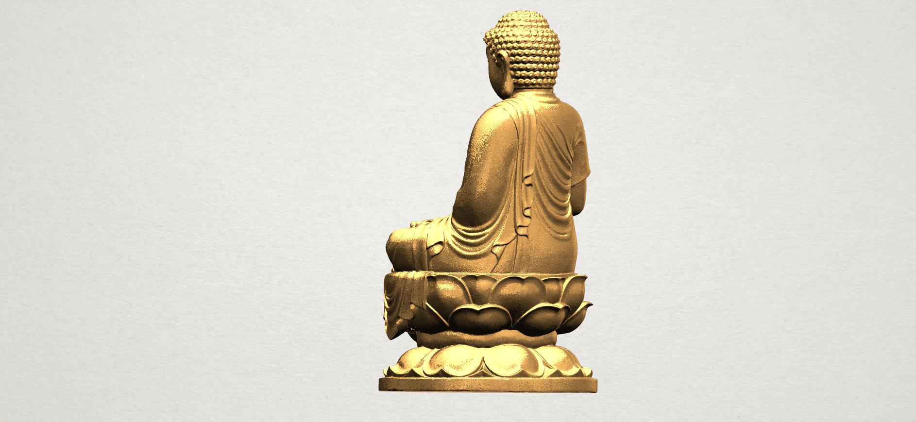 Gautama Buddha (ii) A04.png Download free STL file Gautama Buddha 02 • 3D print template, GeorgesNikkei