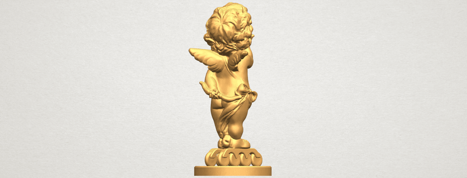 TDA0480 Angel Baby 03 A06.png Download free STL file Angel Baby 03 • 3D printing template, GeorgesNikkei