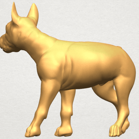 TDA0523 Bull Dog 04 A04.png Download free STL file Bull Dog 04 • 3D print design, GeorgesNikkei