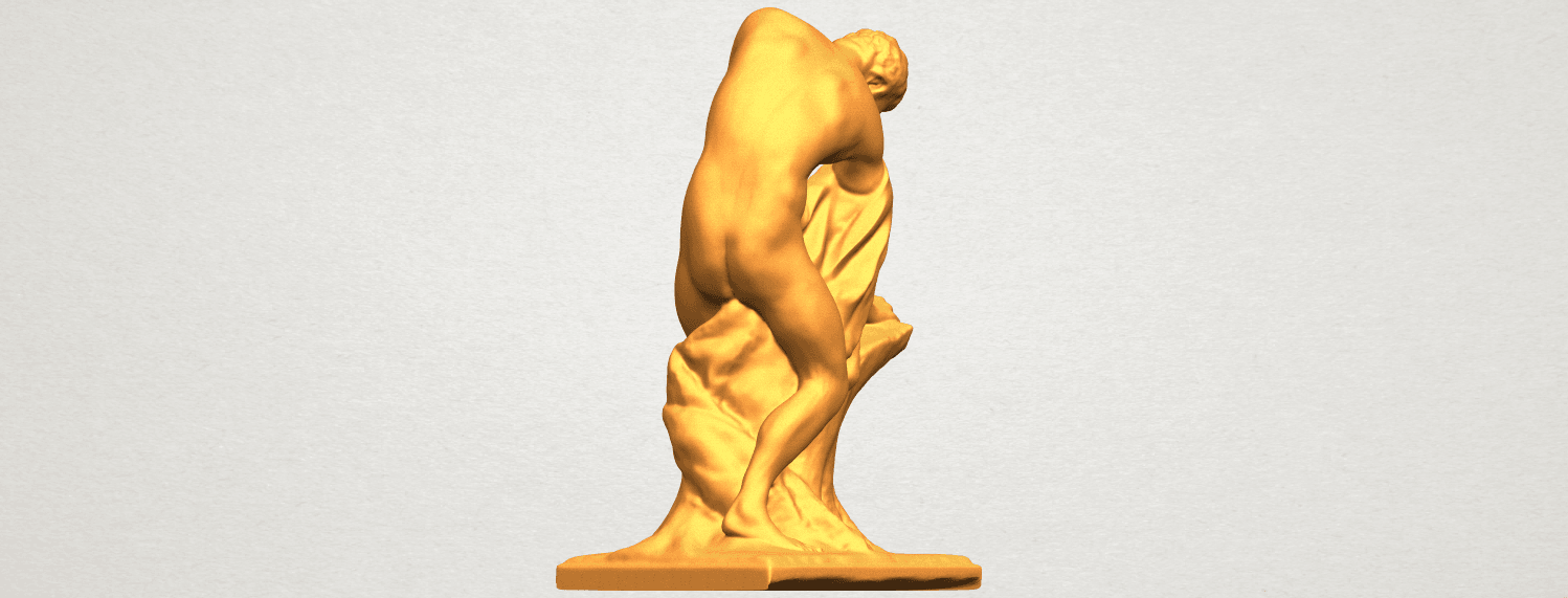 A05.png Download free STL file Milo of Croton • 3D printing design, GeorgesNikkei