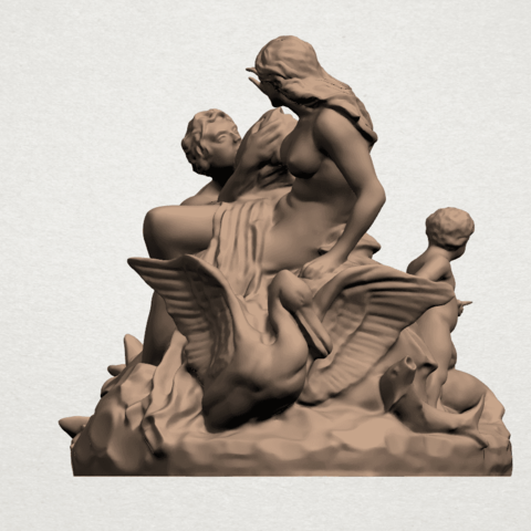 Naked Couple (vi) A03.png Download free STL file  Naked Couple 06 • 3D printing object, GeorgesNikkei