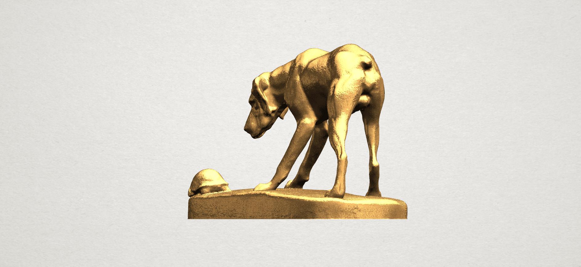 Dog (i) A02.png Télécharger fichier STL gratuit Chien 01 • Plan pour impression 3D, GeorgesNikkei
