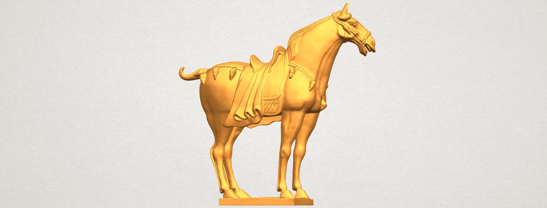 A07.png Télécharger fichier STL gratuit Cheval 08 • Plan à imprimer en 3D, GeorgesNikkei
