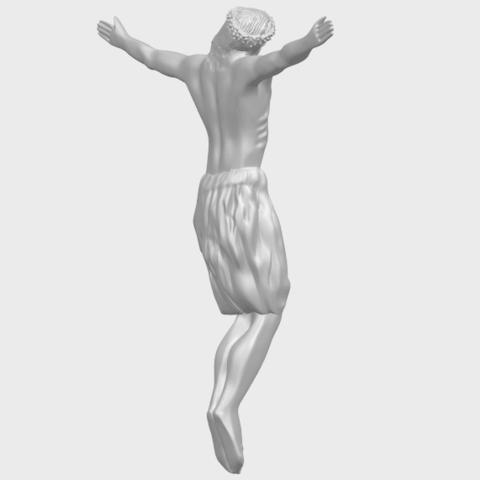 04_TDA0232_Jesus_iii_88mmA08.png Download free STL file Jesus 03 • 3D printable template, GeorgesNikkei