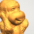 Download free 3D printing templates Monkey A02, GeorgesNikkei