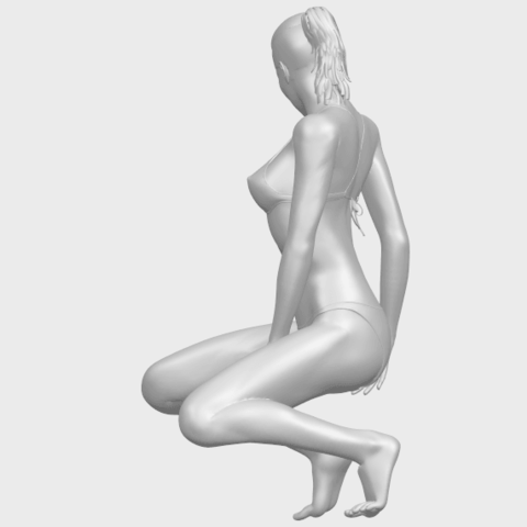 15_TDA0634_Naked_Girl_D04A05.png Download free STL file Naked Girl D04 • 3D printable template, GeorgesNikkei
