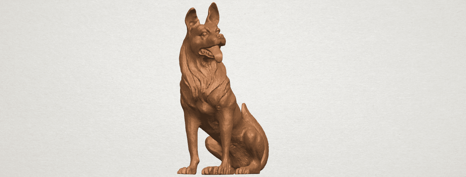 TDA0307 Dog - Wolfhound A02.png Download free STL file Dog - Wolfhound • 3D printer model, GeorgesNikkei