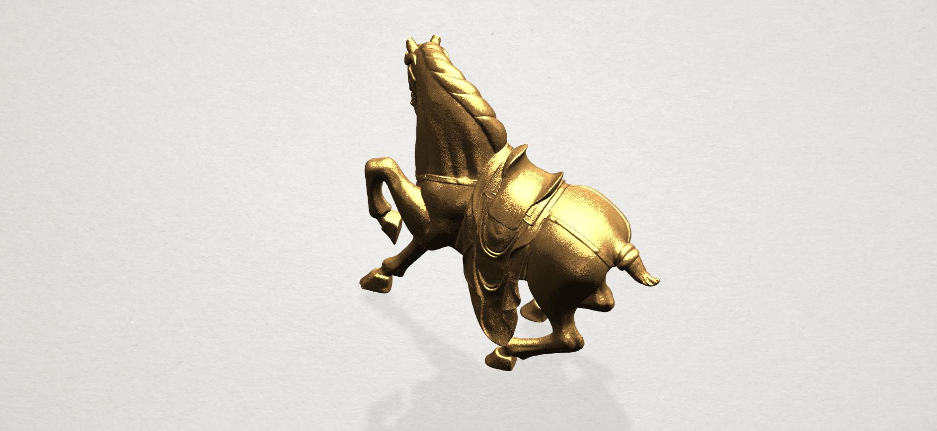 Horse III - B06.png Télécharger fichier STL gratuit Cheval 03 • Design imprimable en 3D, GeorgesNikkei