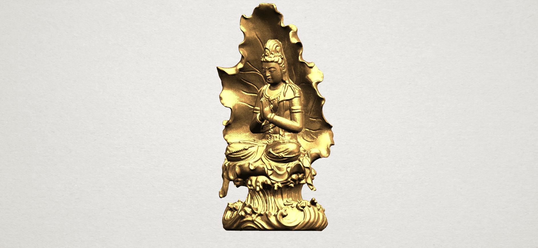 Avalokitesvara Buddha (with Lotus Leave) (ii) A02.png Download free STL file Avalokitesvara Buddha (with Lotus Leave) 02 • Model to 3D print, GeorgesNikkei