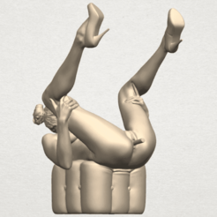 TDA0291 Naked Girl B08 A01.png Download free STL file Naked Girl B08 • 3D print object, GeorgesNikkei