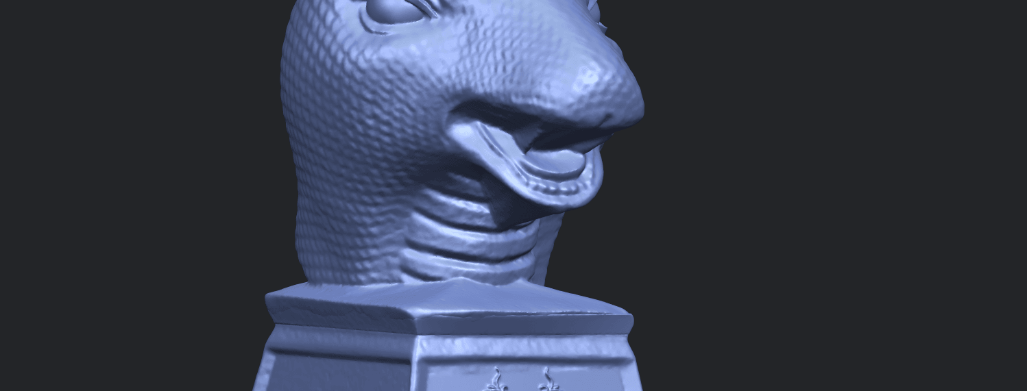 19_TDA0513_Chinese_Horoscope_of_Snake.02A10.png Download free STL file Chinese Horoscope of Snake 02 • 3D printer design, GeorgesNikkei