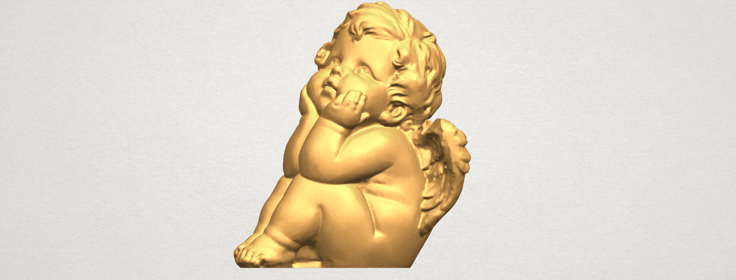 TDA0481 Angel Baby 04 A02.png Download free STL file Angel Baby 04 • 3D printable template, GeorgesNikkei