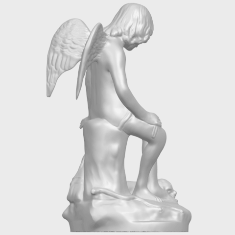05_Angel_and_Dog_80mmA08.png Download free STL file Angel and Dog • 3D print model, GeorgesNikkei