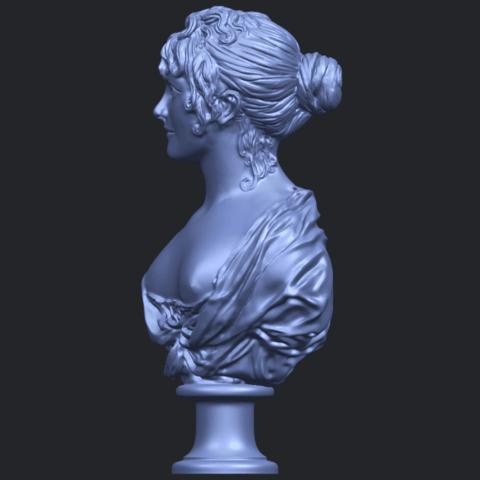 24_TDA0201_Bust_of_a_girl_01B03.png Télécharger fichier STL gratuit Buste d'une fille 01 • Modèle à imprimer en 3D, GeorgesNikkei