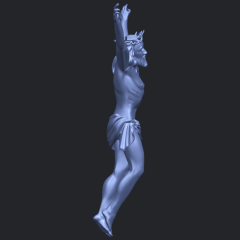 05_TDA0231_Jesus_(ii)_88mmB09.png Download free STL file Jesus 02 • 3D printing template, GeorgesNikkei