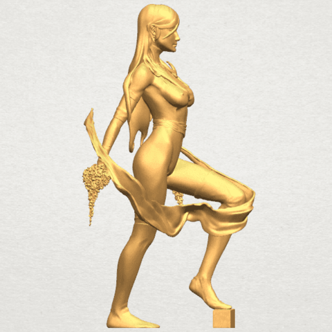 TDA0476 Beautiful Girl 10 A06.png Download free STL file Beautiful Girl 10 • 3D printable design, GeorgesNikkei