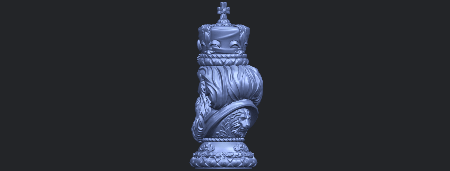06_TDA0254_Chess-The_KingB05.png Download free STL file Chess-The King • 3D printer model, GeorgesNikkei