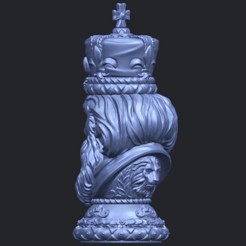 06_TDA0254_Chess-The_KingB05.png Télécharger fichier STL gratuit Chess-Le roi des échecs • Objet pour impression 3D, GeorgesNikkei