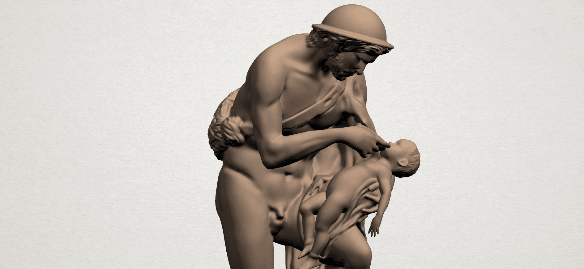 Father and Son (iii) A08.png Download free STL file Father and Son 3 • 3D print model, GeorgesNikkei