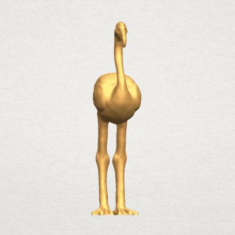 TDA0597 Flamingo 01 A06.png Download free STL file Flamingo 01 • 3D printing model, GeorgesNikkei