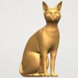 TDA0576 Cat 01 A08.png Télécharger fichier STL gratuit Chat 01 • Modèle pour imprimante 3D, GeorgesNikkei