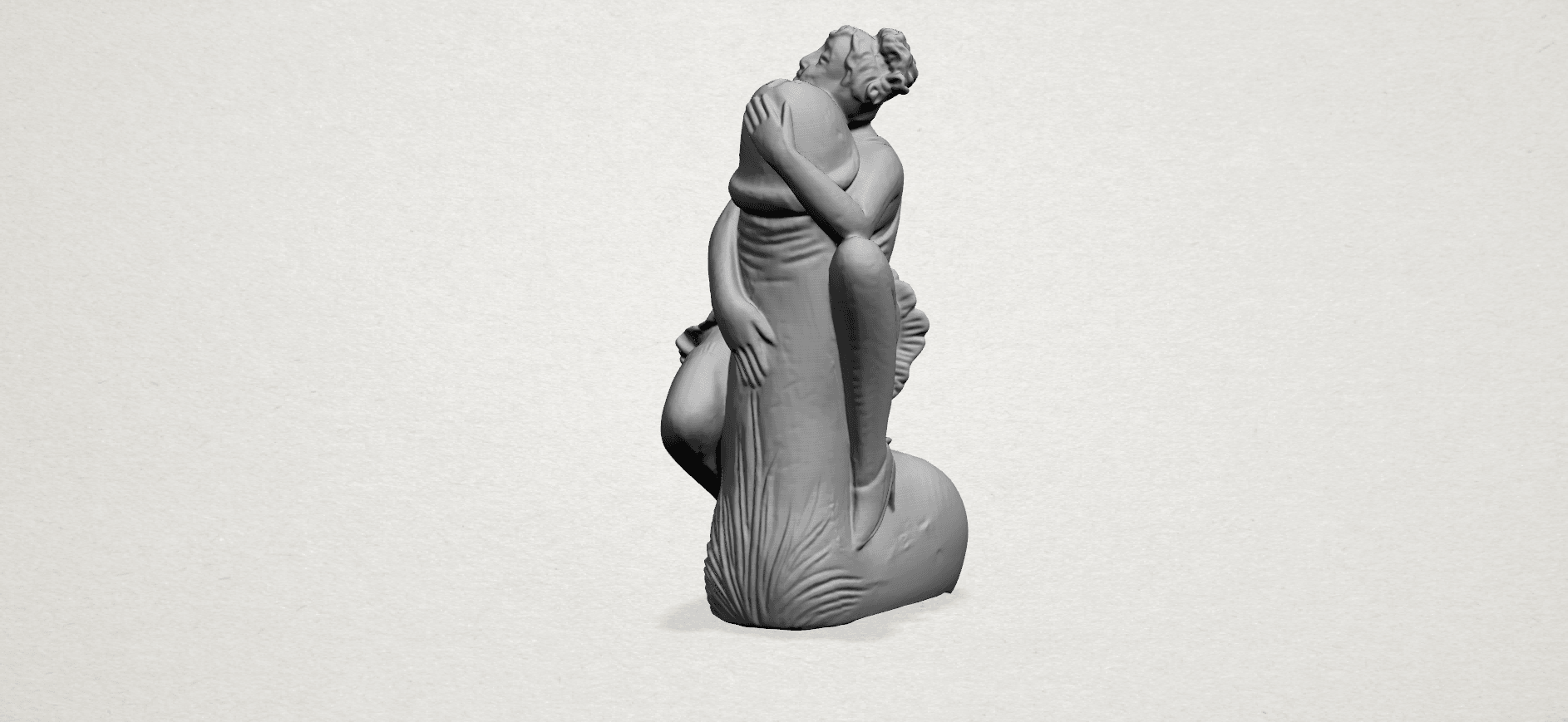 Alice hugging Dick - A02.png Download free STL file Alice hugging Dick • 3D printer design, GeorgesNikkei
