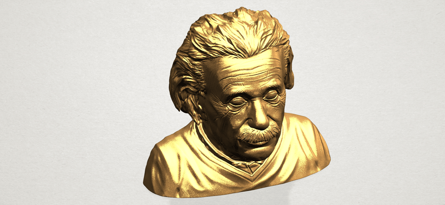 Einstein A07.png Download free STL file Einstein • 3D printer template, GeorgesNikkei